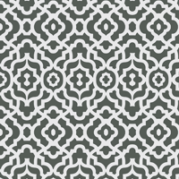 Waverly Inspirations LATTICE CHARCOA 100% Cotton Duck Fabric 45'' Wide, 180 Gsm, Quilt Crafts Cut By The Yard