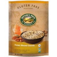 (2 pack) Nature's Path Organic Granola, Honey Almond, 11 Oz Bag
