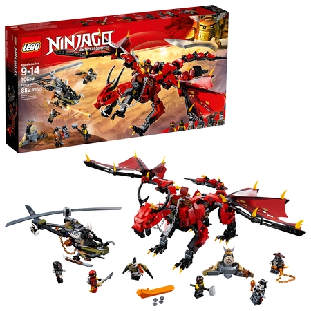 LEGO Ninjago Masters of Spinjitzu: Firstbourne 70653 (882 Pieces) - Blue Lego Ninjago