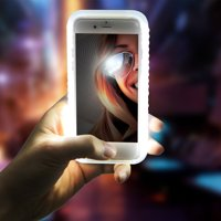 iPhone Light-Up LED Phone Selfie Case Cover