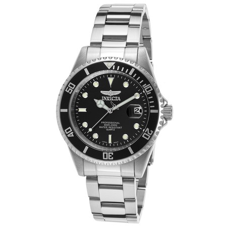 - Men's 8932OB Pro Diver Analog Display Quartz Silver Watch