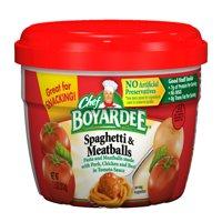 (8 Pack) Chef Boyardee Spaghetti & Meatballs in Tomato Sauce, 7.5 Oz.