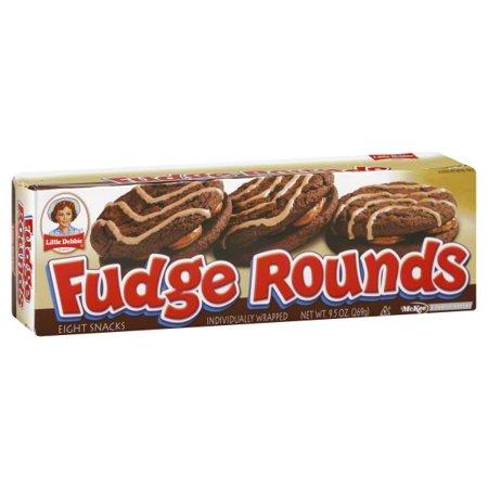 Little Debbie Snacks Fudge Rounds, - Little Debbie Halloween Snack Cakes