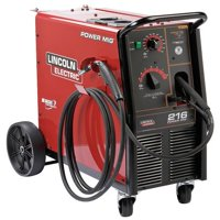 LINCOLN ELECTRIC MIG Welder,Wheeled,208/220/230VAC K2816-2