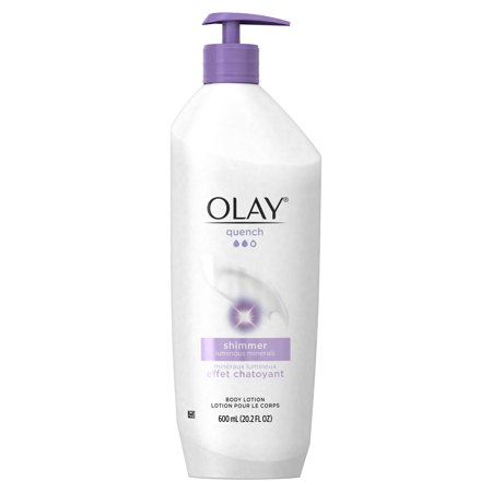 Olay Quench Shimmer Body Lotion, 20.2 fl