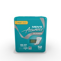 Assurance Guards for Men, Maximum, One Size Fits All, 52 Ct