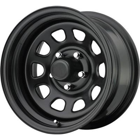 Pro Comp Wheels 51-5873 Rock Crawler Series 51 Black Wheel (Pro 250 Wheels)