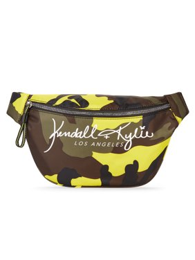 Kendall + Kylie for Walmart Multi Camo Large Fanny Pack