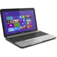 "Toshiba Mercury Silver 15.6"" L855-S5366 Laptop PC with Intel Core i5-3210M Processor and Windows 8 Operating System"