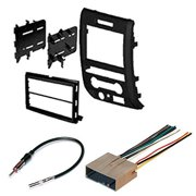 ford 2009 2012 f-150 car radio stereo radio kit dash installation mounting wiring  harness
