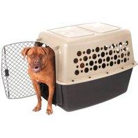 Pet Champion Pet Crate, Brown/Black