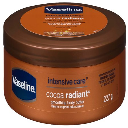 - Vaseline Cocoa Radiant Body Butter Lotion, 8 oz