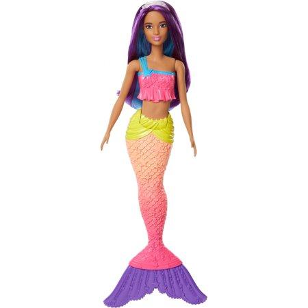 Barbie Dreamtopia Mermaid Doll with Colorful Hair   Tail - Walmart.com 0974dafd10