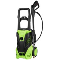 Electric Pressure Washer, 3000 PSI 1.8 GPM Electric Power Pressure Washer,1800W Professional Washer Cleaner Machine with Adjustable 5 Spray Nozzles