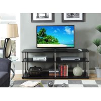 "Convenience Concepts Designs2Go No Tools 3 Tier 60"" TV Stand, Multiple Colors"