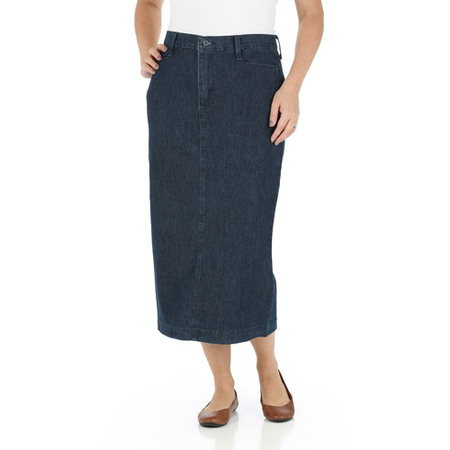 Edwardian Skirt (Women's Long Stretch Twill Skirt)