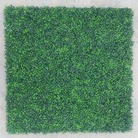 """Smart Panel Artificial Milan leaf Hedge Panel Wall Green Faux Fence Mat Fake Privacy Screens Outdoor Greenery Panel Backdrop Trellis Outdoor Décor 40""""L x 40""""H (1 piece)"""