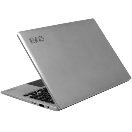 "EVOO 11.6"" Ultra Thin Laptop, Windows 10 S, Quad Core, 32GB Storage, Micro HDMI, Webcam, Silver"
