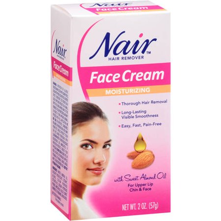 Nair Hair Remover Cream For Face 2 Oz Walmart Com
