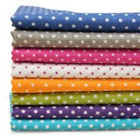 7 Assorted Cotton Cloth Pre-Cut Quilt Craft Fabric Fat Quarter Bundle Patchwork Quilting Sewing 20'' x 20''