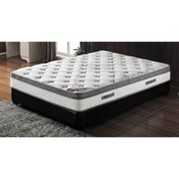 Milton Green 10 in. Pocketed Coil Mattress with Pillow Top