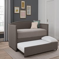 Better Homes and Gardens Grayson Linen Daybed and Trundle Twin, Multiple Colors