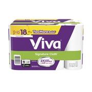 Viva Signature Cloth Paper Towels, Choose-A-Sheet, 12 Big Rolls, 83 Sheets Per Roll (=16 Regular Rolls)