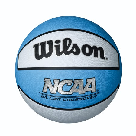 Wilson NCAA Killer Crossover Basketball, Intermediate Size 7 (Cherry Ncaa Basketball)