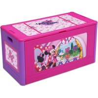 Disney Minnie Mouse Store and Organize Plastic Toy Box by Delta Children