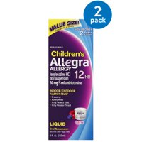 Allegra Children's 12hr Liquid Value Size, Berry 8 Fl Oz