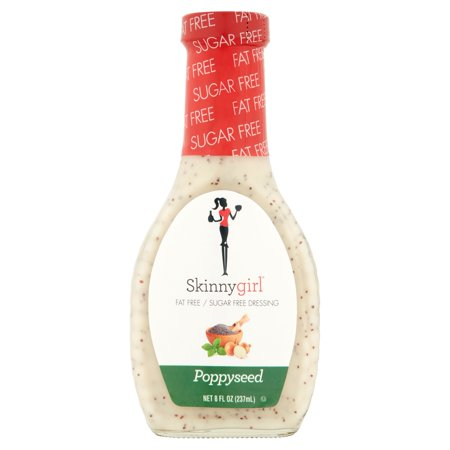 (3 Pack) Skinnygirl Poppyseed Salad Dressing, 8 Fl Oz - Halloween Cross Dressing