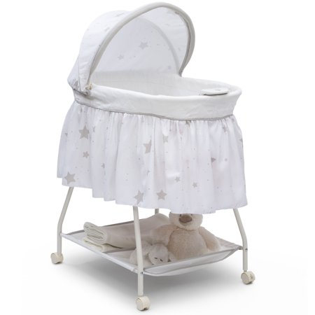 Delta Children Deluxe Sweet Beginnings Bassinet, (Contours Classique 3 In 1 Bassinet Assembly)