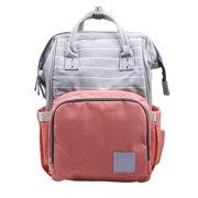 a2da33744b79 Sweetsmile Backpack Diaper Bag Multifunctional Waterproof Maternity Nappy  Bags Portable Large Capacity Travel Mummy Bags for