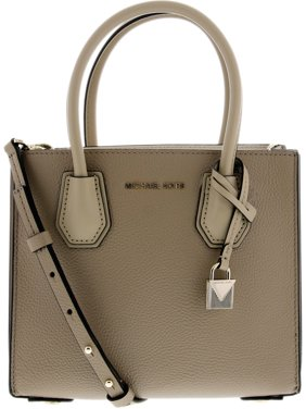 5c7dde6895c Product Image Michael Kors Women s Medium Mercer Crossbody Bag Leather  Cross Body - Truffle