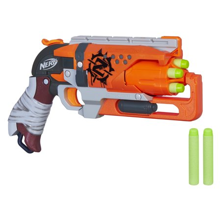Nerf Zombie Strike Hammershot Blaster with 5 Nerf Zombie Strike - Zombie Voice