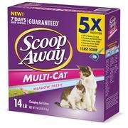 Scoop Away Multi-Cat, Scented Cat Litter, 14 lbs