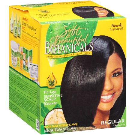 Regular Relaxer (Soft & Beautiful Botanicals Relaxer Kit Regular )