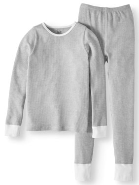 Product Image Fruit Of The Loom Girls Soft Waffle Thermal Underwear Set 978d877a9