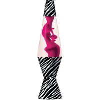 Lava® the Original 14.5-Inch Pink Lamp with Zebra Decal Base