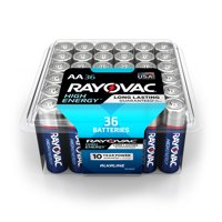 Rayovac High Energy Alkaline, AA Batteries, 36 Count