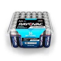 Rayovac High Energy Alkaline, AA Batteries, 36 Count