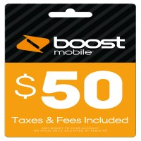 Boost Mobile $50 re-boost card (email delivery)