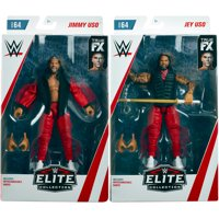Package Deal - The Usos (Jimmy Uso & Jey Uso) - WWE Elite 64 Toy Wrestling Action Figures