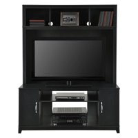 Ameriwood Home Woodland Entertainment Console, Black