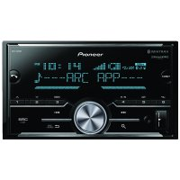 Pioneer MVH-S600BS Double-DIN In-Dash Digital Media Receiver with Bluetooth, SiriusXM Ready & 3 Pairs Of High-Volt RCA Preamp Outputs