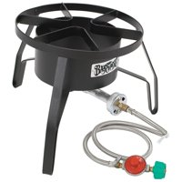 Bayou Classic High Pressure Outdoor Portable Propane Gas Camping Burner Cooker
