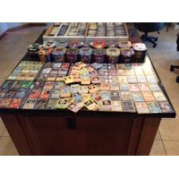 150 Assorted Pokemon Cards with Collectible Tin