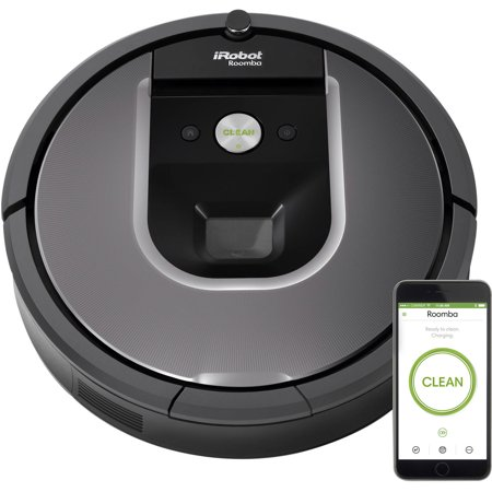 iRobot Roomba 960 Robot Vacuum- Wi-Fi Connected Mapping, Works with Alexa, Ideal for Pet Hair, Carpets, Hard