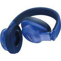 JBL E55BT Wireless Over-ear Headphones - Stereo - Blue - Mini-phone - Wired/Wireless - Bluetooth - 32 Ohm - 20 Hz - 20 kHz - Over-the-head - Binaural - Circumaural