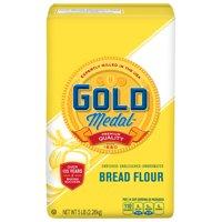 (2 Pack) Gold Medal Unbleached Bread Flour, 5 lb Bag